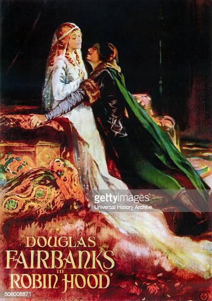 'Robin Hood' starring Douglas Fairbanks a 1922 swashbuckling adventure silent film