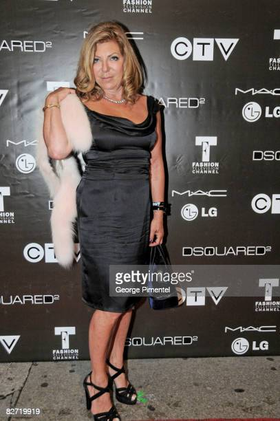 Robin Kay Attends the MAC GOLD FEVER AFTER PARTY at the Chum/City TV Building on September 7 2008 in Toronto Canada