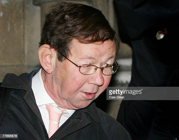 Robin Keeley a forensic expert who worked for the forensic Science Service leaving the High Court after speaking at the first day of Barry George's...