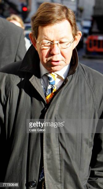 Robin Keeley a forensic expert who worked for the forensic Science Service enters the High Court on the second day of Barry George's appeal against...