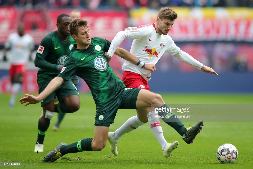 DEU: RB Leipzig v VfL Wolfsburg - Bundesliga