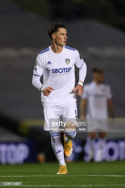 Robin Koch of Wolverhampton Wanderers during the Premier League match between Leeds United and Wolverhampton Wanderers at Elland Road on October 19...