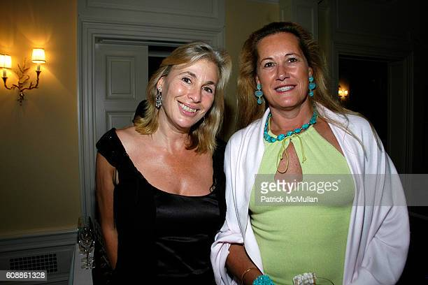 Robin Leacock and Diane de la Bregassier attend The Kickoff party of Bewitched Bothered and Bewildered The 2007 ALZHEIMER'S ASSOCIATION RITA HAYWORTH...