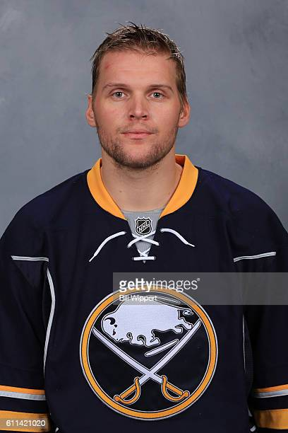 Robin Lehner of the Buffalo Sabres poses for his official headshot of the 20162017 season on September 22 2016 at the KeyBank Center in Buffalo New...