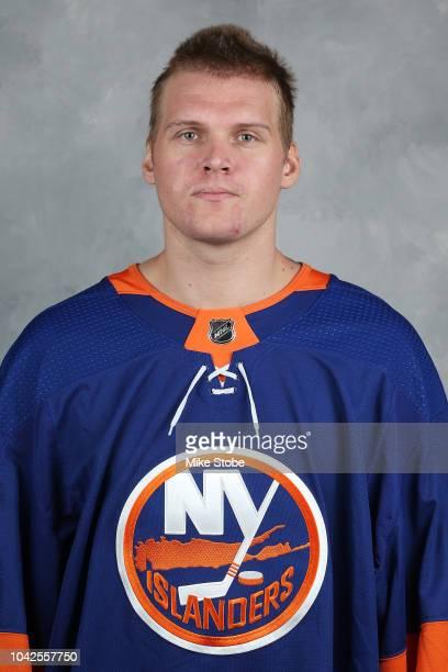 Robin Lehner of the New York Islanders poses for his official headshot for the 20182019 season on September 13 2018 in Uniondale New York
