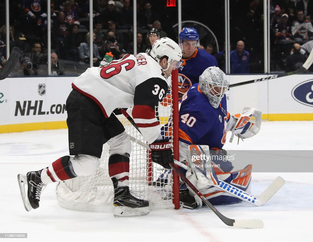 NY: Arizona Coyotes v New York Islanders