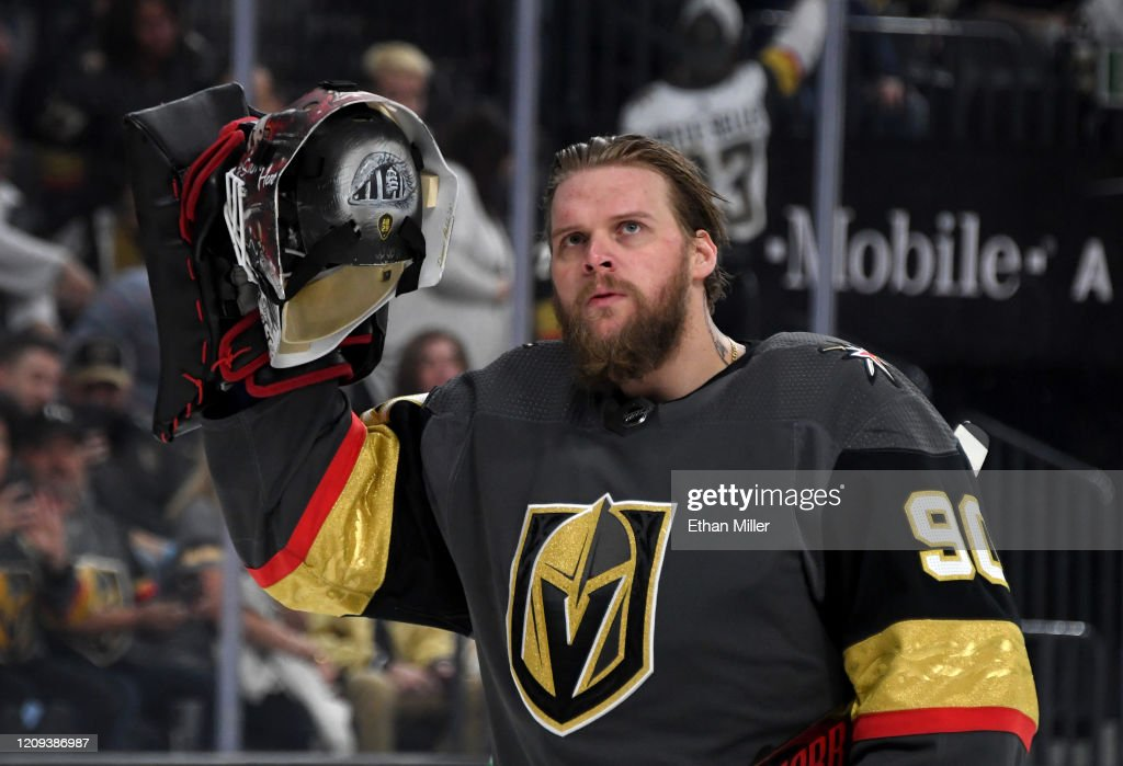 Buffalo Sabres v Vegas Golden Knights : News Photo