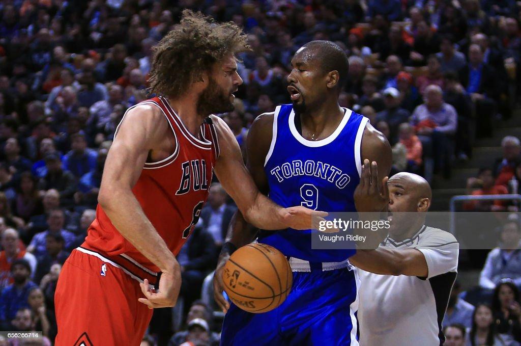 Chicago Bulls v Toronto Raptors