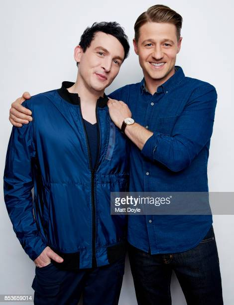 Robin Lord Taylor and Ben McKenzie of FOX's 'Gotham' pose for a portrait at the Tribeca TV festival at Cinepolis Chelsea on September 23 2017