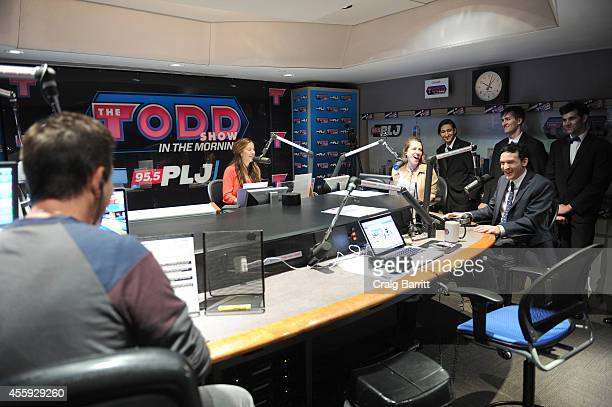 Robin Lord Taylor attend The Todd Show for the'Gotham' Oswald Cobblepot New York City Takeover on September 22 2014 in New York City