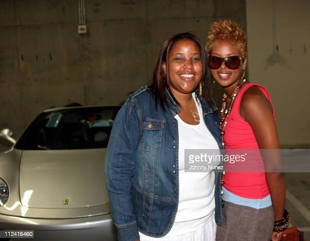 Robin Lyon and Eva Pigford during AXE Mojo Master The Game in Los Angeles in Los Angeles California United States