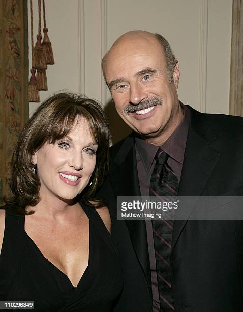 Robin McGraw and Dr Phil McGraw during Robin McGraw Signs Her Book Inside My Heart Party at Private Residence in Bel Air California United States