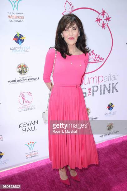 Robin McGraw attends the 10th Annual Pink Pump Affair Charity Gala Fundraiser at The Beverly Hills Hotel on May 20 2018 in Beverly Hills California