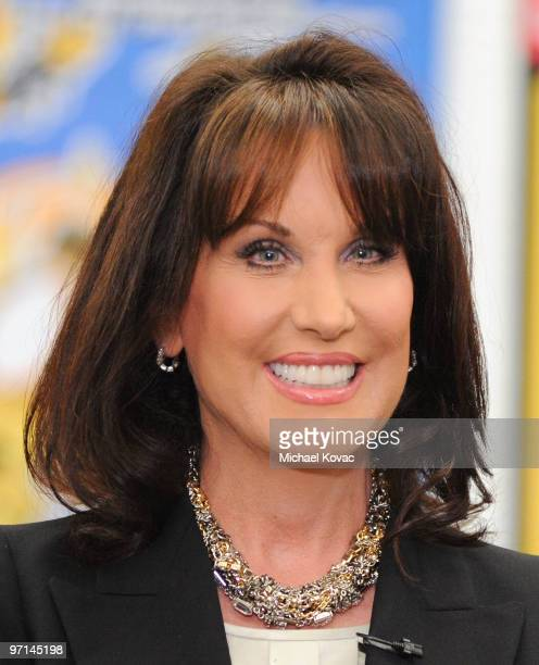 Robin McGraw attends the Little Kids Rock Across America training session on February 27 2010 in Los Angeles California