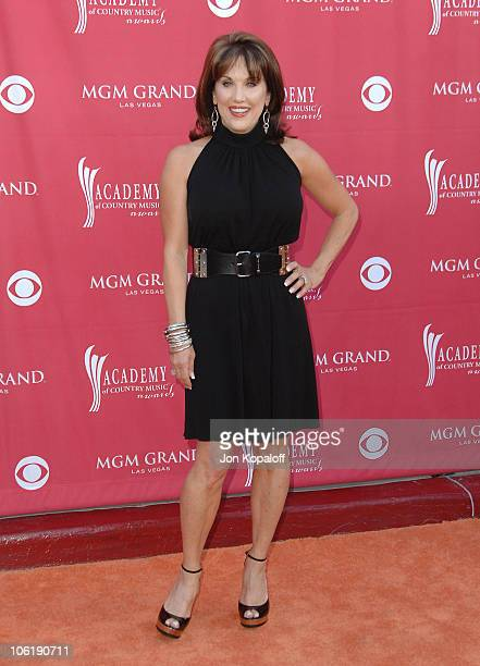 Robin McGraw during 42nd Academy of Country Music Awards Arrivals at MGM Grand Hotel and Casino Resort in Las Vegas Nevada United States