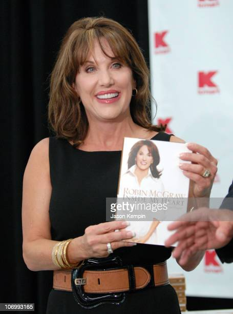Robin McGraw during Robin McGraw Wife of Dr Phil McGraw InStore Appearance for her New Book Inside My Heart September 18 2006 at Kmart Penn Plaza in...