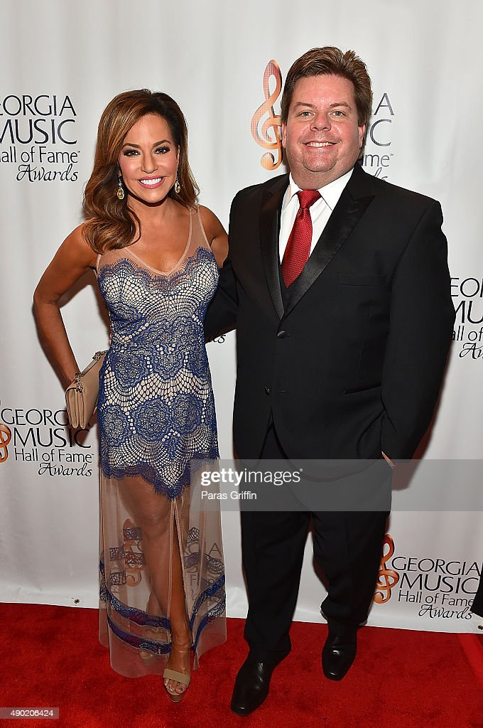 Robin Meade and Jeff Dauler attend 2015 Georgia Music Hall Of Fame Awards at Georgia World Congress Center on September 26, 2015 in Atlanta, Georgia.
