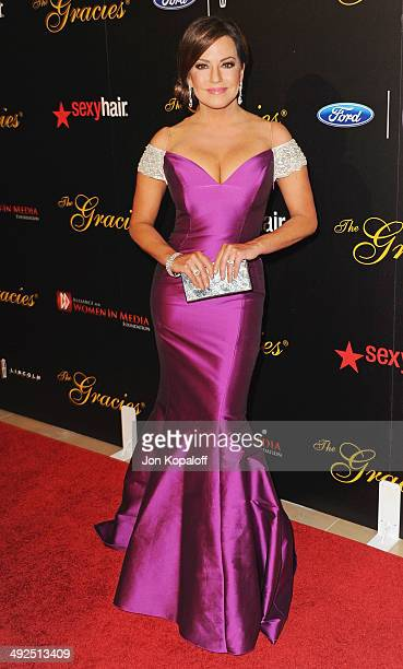 Robin Meade arrives at the 39th Annual Gracie Awards at The Beverly Hilton Hotel on May 20 2014 in Beverly Hills California