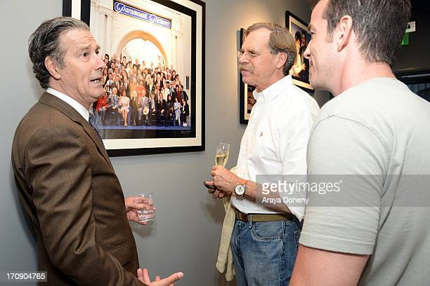 Robin Morgan attends a gallery exhibit of Terry O'Neill Presents The Opus A 50 Year Retrospective at Mouche Gallery on June 19 2013 in Beverly Hills...