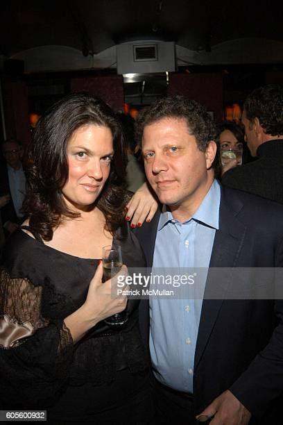 Robin Navrozov and Stuart Sundlun attend Valentine's Day Cocktail Party hosted by Abby Weisman and Robin Navrozov at Serena's on February 14 2006 in...