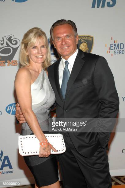 Robin Ordon and Dr Andrew Ordon attend 16th Annual Race to Erase MS event cochaired by Nancy Davis and Tommy Hilfiger at Hyatt Regency Century Plaza...