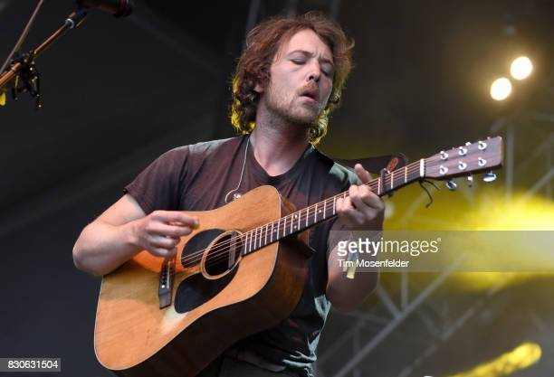 Robin Pecknold of Fleet Foxes performs during the 2017 Outside Lands Music and Arts Festival at Golden Gate Park on August 11 2017 in San Francisco...