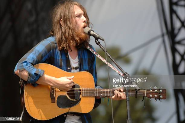 Robin Pecknold of Fleet Foxes performs during the Austin City Limits Music Festival at Zilker Park on September 27, 2008 in Austin, Texas.