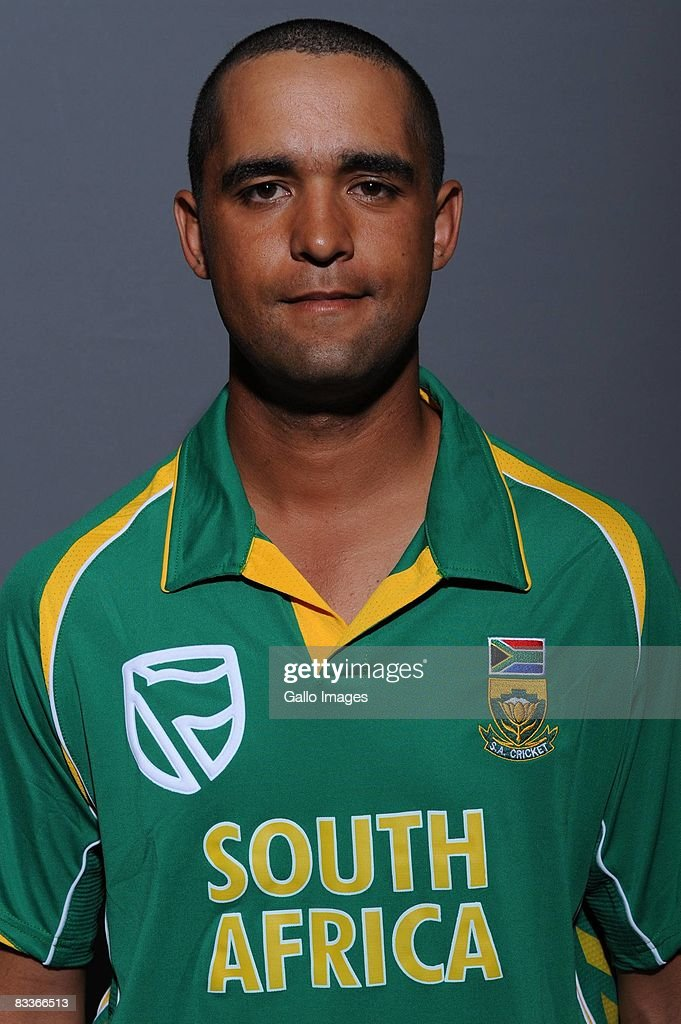 Robin Peterson poses during the South African One Day International team portait session at Grayston Southern Sun on October 20, 2008 in Johannesburg, South Africa.