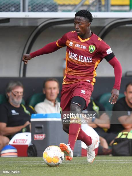 Robin Polley of ADO Den Haag during the Club Friendly match between ADO Den Haag v Panathinaikos at the Cars Jeans Stadium on July 28 2018 in Den...