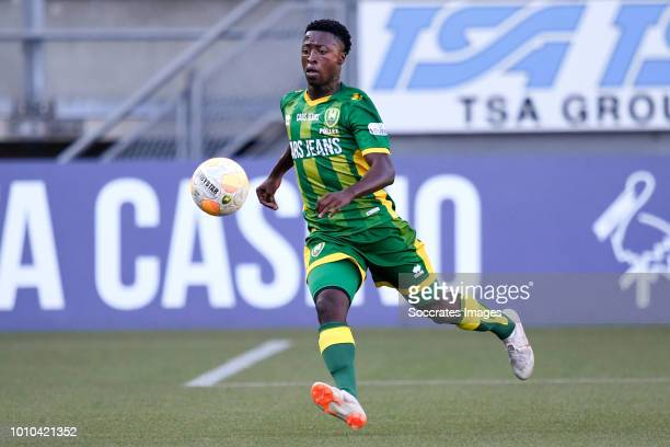 Robin Polley of ADO Den Haag during the Club Friendly match between ADO Den Haag v Aris Saloniki at the Cars Jeans Stadium on August 3 2018 in Den...