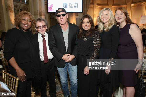 Robin Quivers Paul Williams Steve Madden Rachael Ray Elizabeth Matthews and Patti Galluzzi attend the 6th Annual Women Of Influence Awards at The...