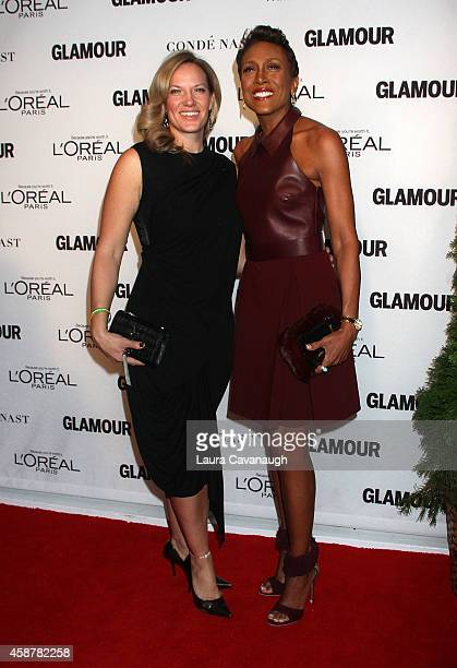Robin Roberts and Amber Laign attend the 2014 Glamour Women Of The Year Awards at Carnegie Hall on November 10 2014 in New York City