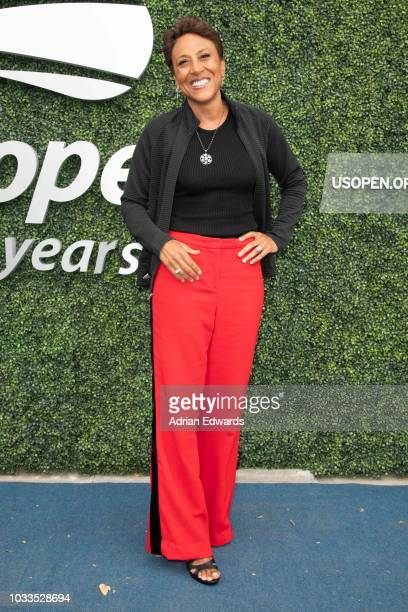 Robin Roberts at Day 13 of the US Open held at the USTA Tennis Center on September 8 2018 in New York City