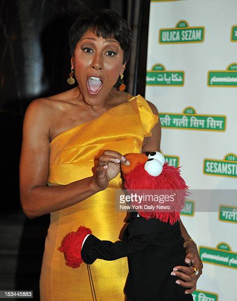 Robin Roberts at the Sesame Workshop Annual Benefit Dinner held in Cipriani