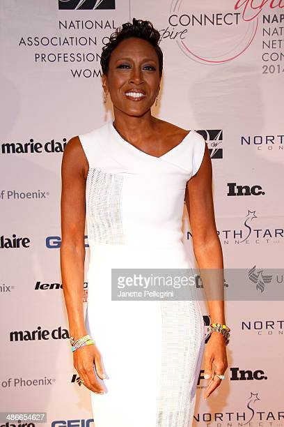 Robin Roberts attends NAPW 2014 Conference Day 2 on April 25 2014 in New York City