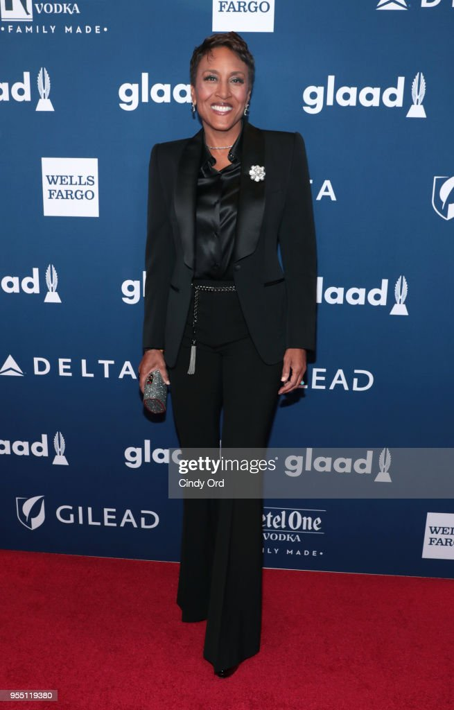 Robin Roberts attends the 29th Annual GLAAD Media Awards at The Hilton Midtown on May 5, 2018 in New York City.