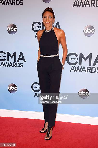Robin Roberts attends the 47th annual CMA Awards at the Bridgestone Arena on November 6 2013 in Nashville Tennessee