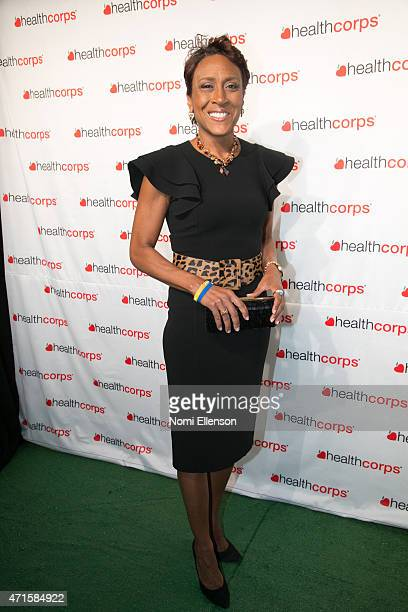 Robin Roberts attends the 9th Annual HealthCorps' Gala at Cipriani Wall Street on April 29 2015 in New York City
