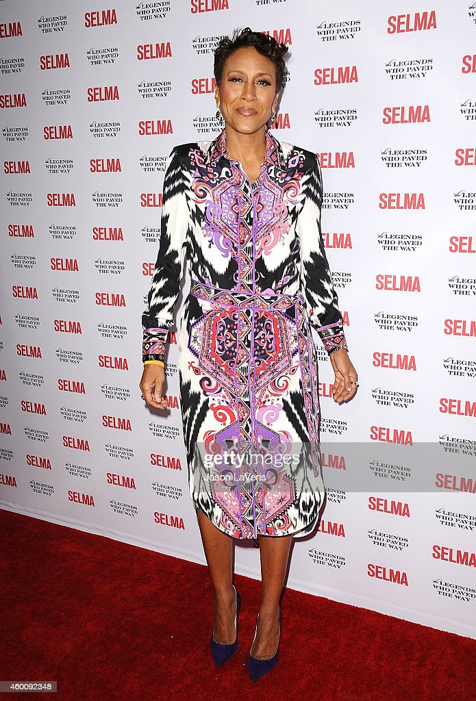Robin Roberts attends the 'Selma' and the Legends Who Paved the Way gala at Bacara Resort on December 6, 2014 in Goleta, California.