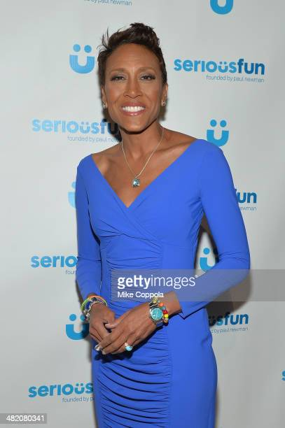 Robin Roberts attends the SeriousFun Children's Network Gala at Cipriani 42nd Street on April 2 2014 in New York City