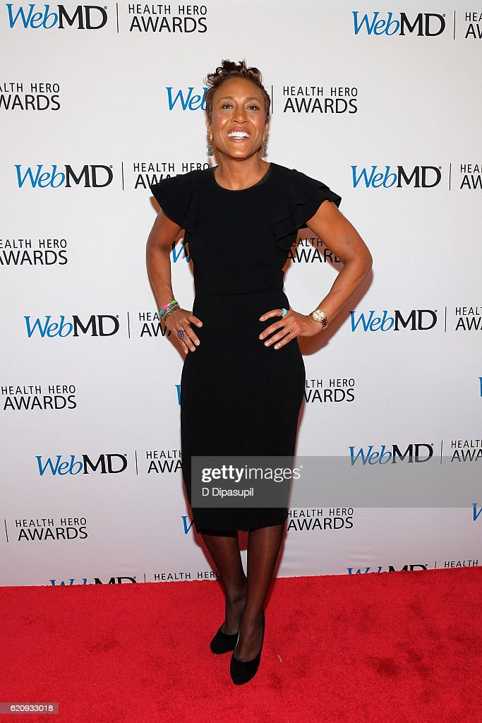 Robin Roberts attends the WebMD Health Hero Awards at TheTimesCenter on November 3, 2016 in New York City.