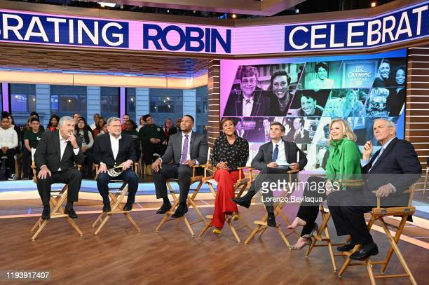 """Robin Roberts celebrates her 30th year with ABC on """"Good Morning America,"""" on Wednesday January 15, 2020 on ABC. BOB LEY, CHARLEY STEINER, MICHAEL..."""