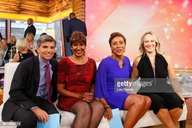 AMERICA Robin Roberts celebrates her 5th birthday which commemorates the day she received a lifesaving bonemarrow transplant to treat MDS on Good...