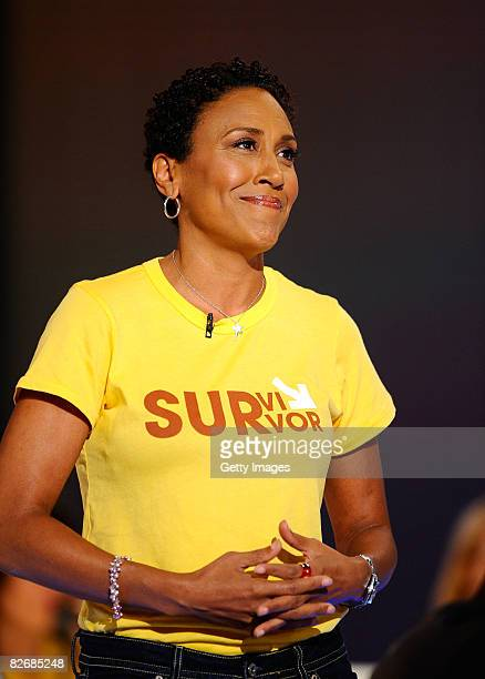 Robin Roberts CoAnchor of ABC News' Good Morning America attends Stand Up To Cancer at the Kodak Theatre on September 5 2008 in Hollywood California