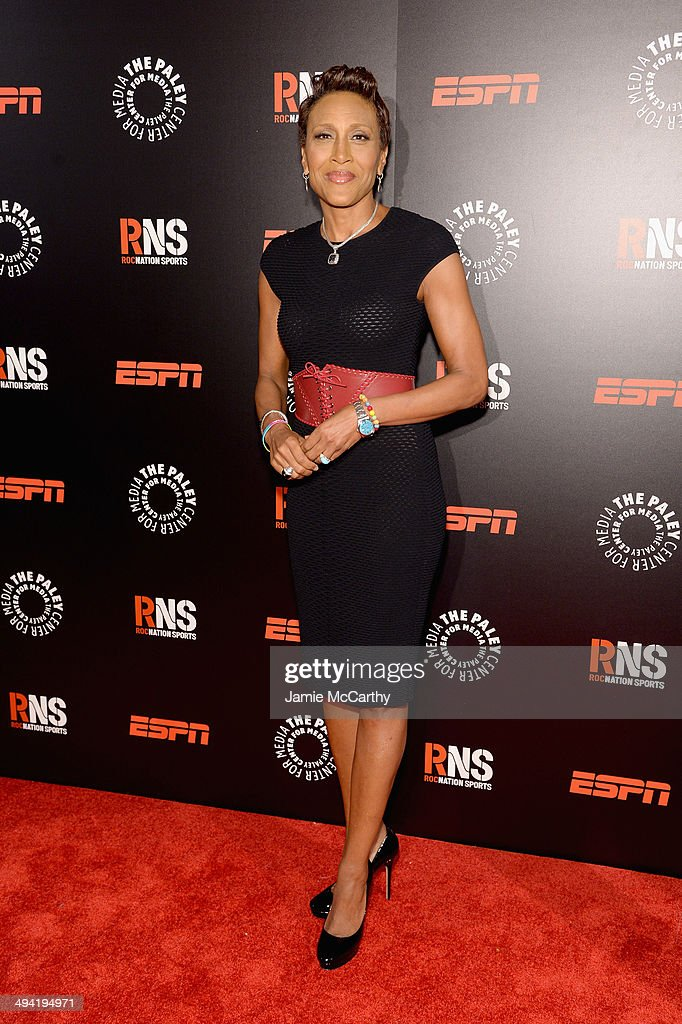 Robin Roberts, Former Anchor, ESPN attends the Paley Prize Gala honoring ESPN's 35th anniversary presented by Roc Nation Sports on May 28, 2014 in New York City.