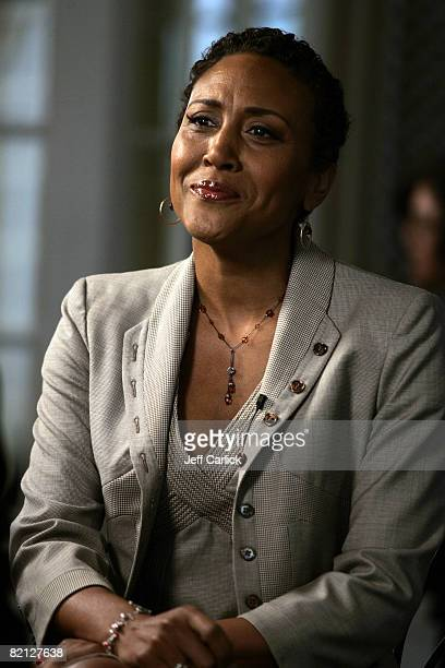 Robin Roberts of Good Morning America is honored by the WNBA with a luncheon titled Inspiring Women July 30 2008 at The Palace Hotel in San Francisco...