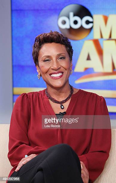 AMERICA Robin Roberts on 'Good Morning America' 10/26/15 airing on the ABC Television Network
