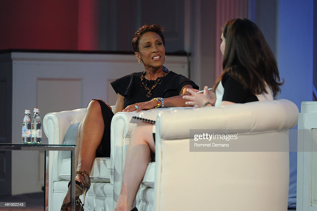 Robin Roberts speaks Forbes Women's Summit:The Entrepreneurship of Everything at 583 Park Avenue on May 15, 2014 in New York City.