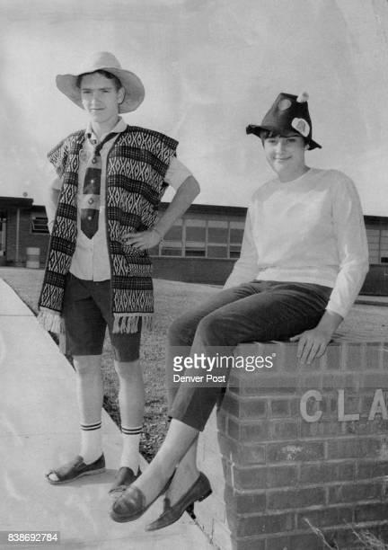 NOV 16 1967 NOV 23 1967 NOV 29 1967 GRUB CLOTHES FOR SHERIDAN JUNIOR HIGH Robin Roop of 3251 S Dale Court and Rose Phipps of 4060 S Hazel Court both...