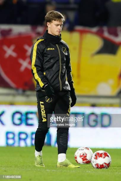 Robin Schouten of NAC Breda during the Dutch Keuken Kampioen Divisie match between NAC Breda v MVV Maastricht at the Rat Verlegh Stadium on November...